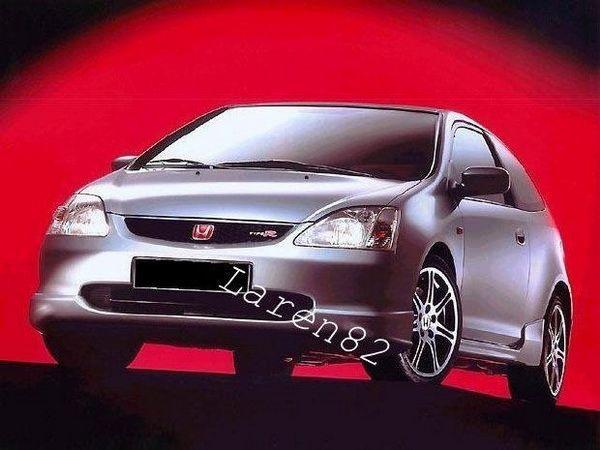 Накладка передняя (юбка) HONDA Civic VII (01-04) 3D