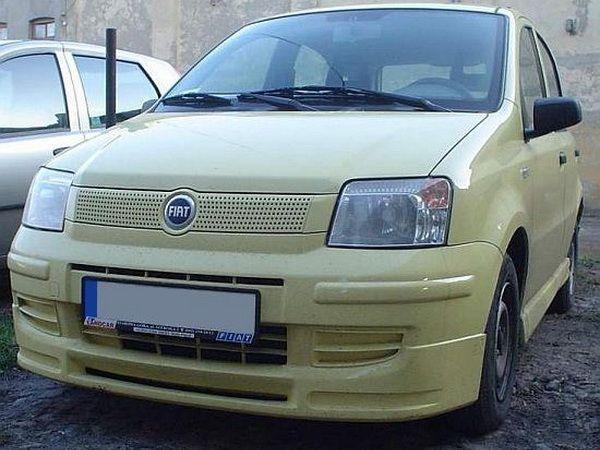 Накладка переднего бампера (юбка) FIAT Panda II (2003-)