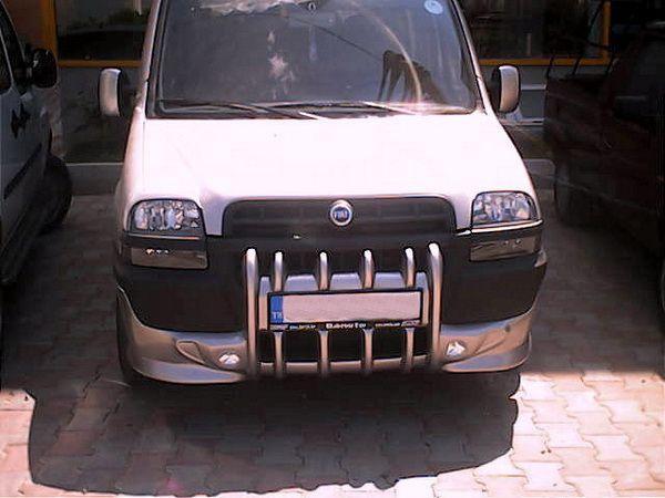 Накладка на передний бампер FIAT Doblo I (2000-2005)
