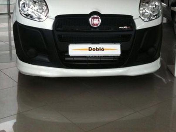 Юбка переднего бампера FIAT Doblo II (2010-2014)