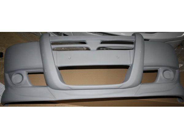 Накладка на передний бампер FIAT Doblo II (2010-)