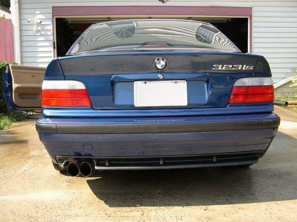 Накладка задняя (диффузор) BMW E36 - M3
