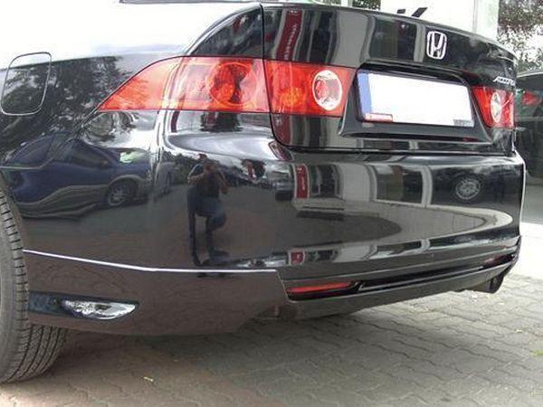 """Накладка бампера задняя HONDA Accord VII (2002-2006) SD """"JDM"""""""