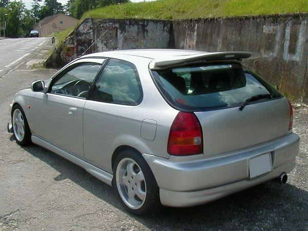 "Юбка задняя HONDA Civic VI (99-01) 3D Htb ""NK"""