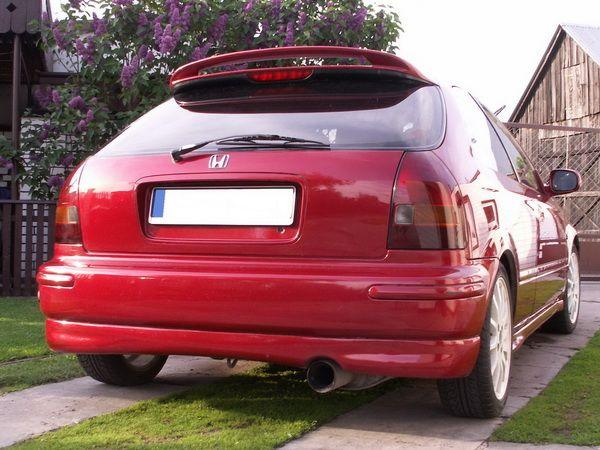 "Юбка задняя HONDA Civic VI (95-99) 3D Htb ""NK"""