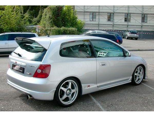 """Накладка задняя (юбка) HONDA Civic VII (01-06) 3D """"Type R"""""""