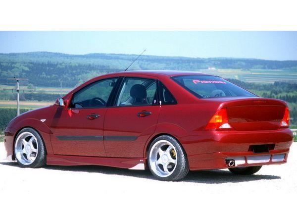 Накладка задняя FORD Focus I (99-05) Sedan