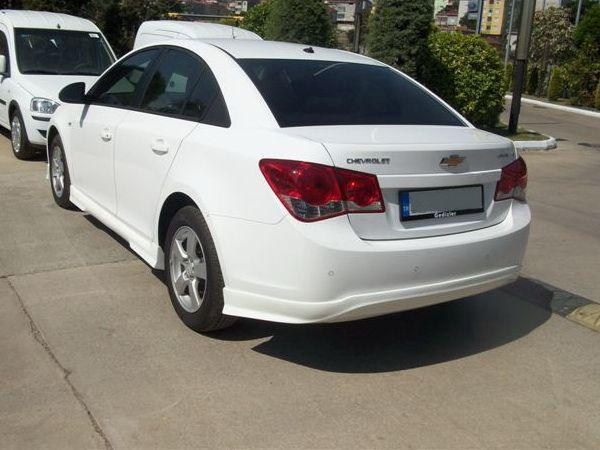 Накладка заднего бампера CHEVROLET Cruze (2009-) Sedan