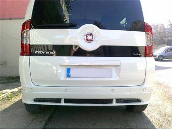 Накладка бампера задняя FIAT Fiorino (2008-) (юбка)