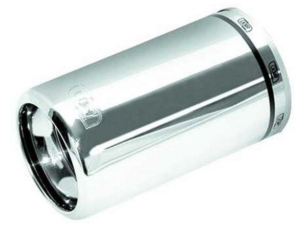 Глушитель универсальный алюминий NM-142-17