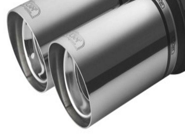 Глушитель универсальный двойная насадка NM-242-08-1
