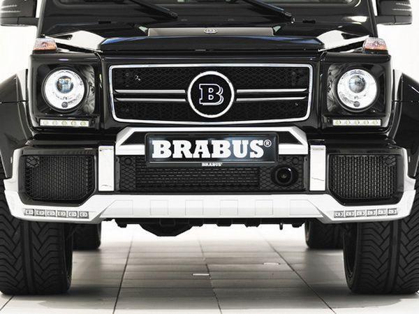 """Накладка на передний бампер MERCEDES G W463 """"BRABUS"""""""