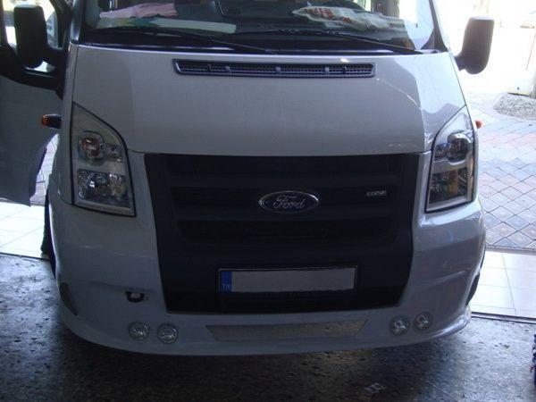 Накладка бампера передняя FORD Transit 200 HP (2009-)