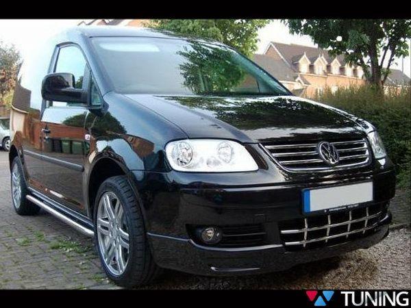 """Юбка передняя VW Caddy III (04-10) """"Sport Line"""""""