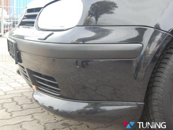 Накладки на углы переднего бампера VW Golf IV