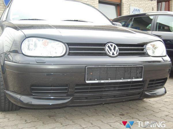 Накладки на углы переднего бампера VW Golf IV (97-03)