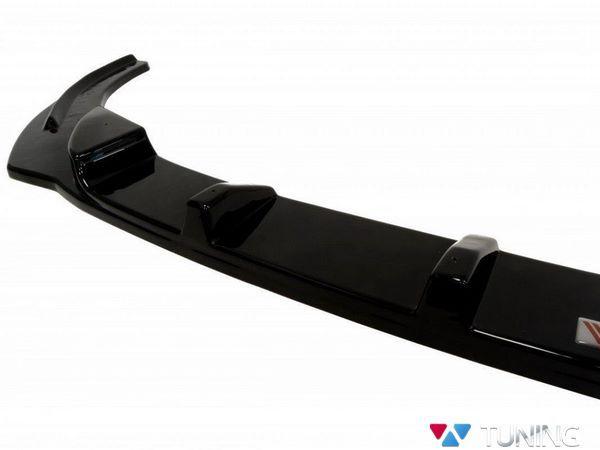ABS накладка под передний бампер VW Golf 6 VI GTI - сплиттер 4