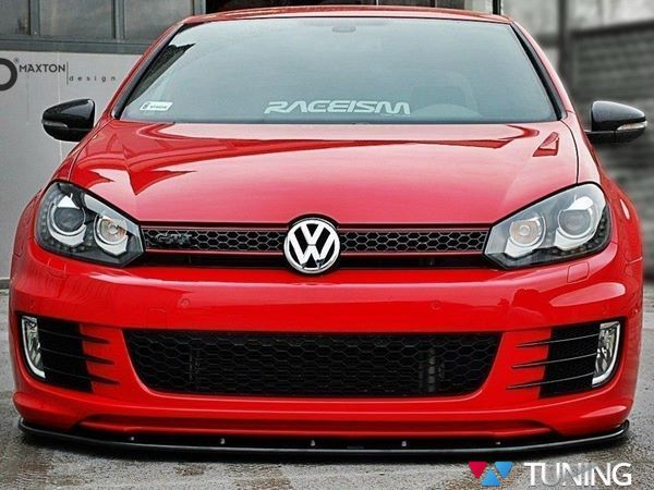 Сплиттер передний VW Golf VI GTI 35TH