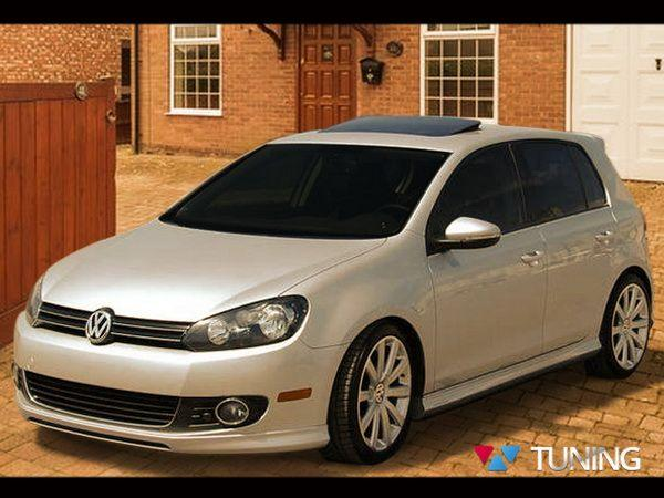 """Юбка передняя VW Golf VI (08-12) """"R Line"""""""