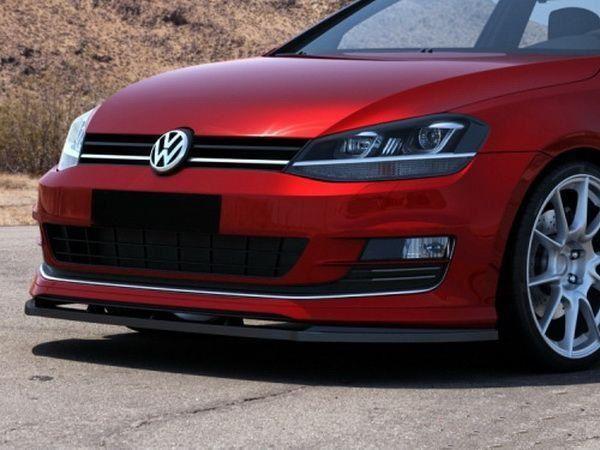 Сплиттер передний VW Golf 7 VII для SPORT PACK