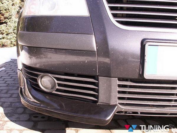 Накладки на передние углы VW Passat B5+ 3BG (01-05)