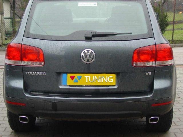 Насадки на глушитель VW Touareg I (2002-2005) NX33