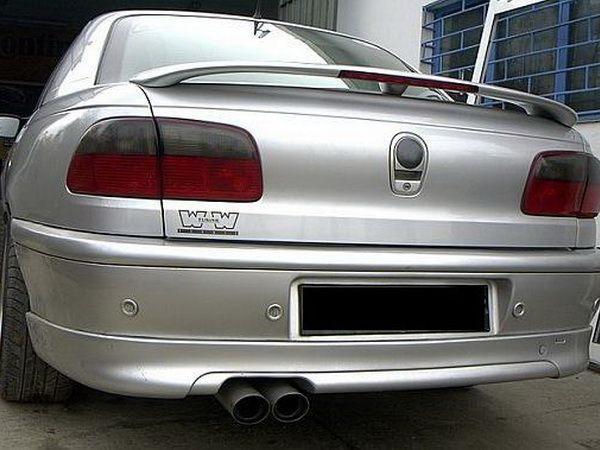 Накладка на задний бампер OPEL Omega B (94-99) Sedan