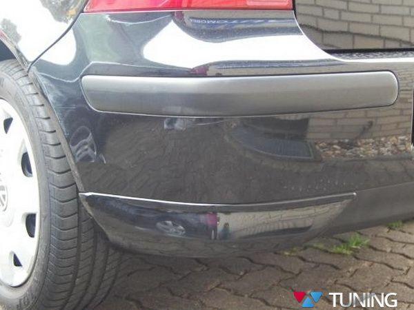 Накладки на углы заднего бампера VW Golf IV HB