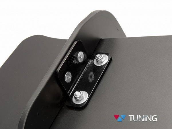 Диффузор задний + сплиттера VW Scirocco R (08-14) - фото #8
