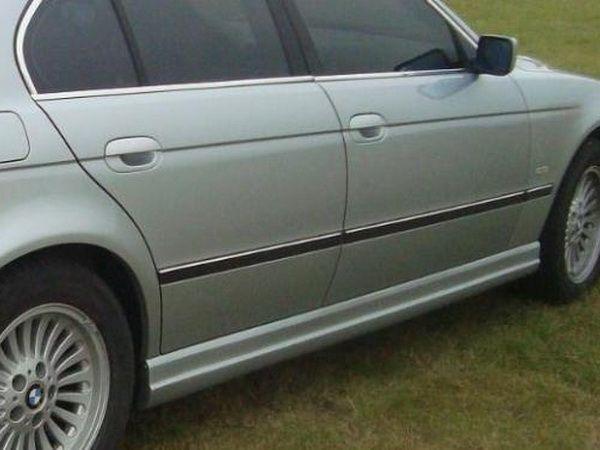 Накладки на боковые пороги BMW E39 - Schnitzer стиль 1