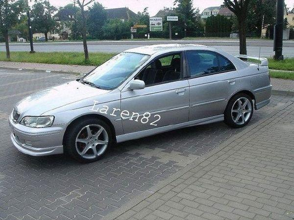 "Накладки на пороги HONDA Accord VI (1998-2002) ""CETUS"""