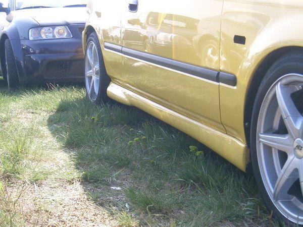 """Накладки на пороги HONDA Civic VI (98-01) Sedan/Coupe """"NK"""""""