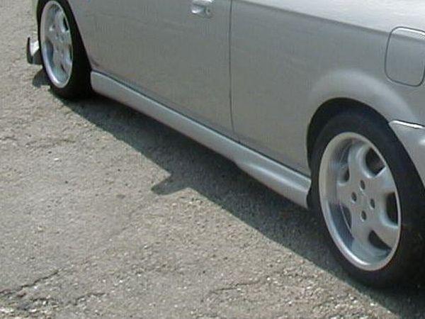 """Накладки на пороги HONDA Civic VI (98-01) 3D HB """"NK"""""""