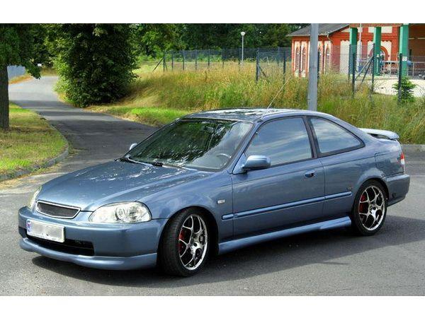 "Накладки на пороги HONDA Civic VI (95-98) ""NK"""