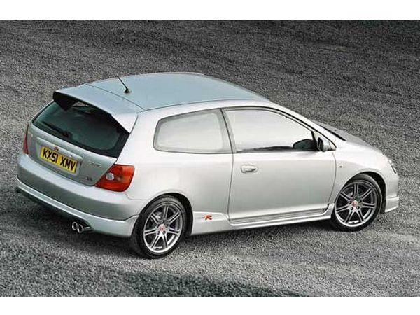 "Накладки на пороги HONDA Civic VII (2001-) 3D ""TYPE-R"""