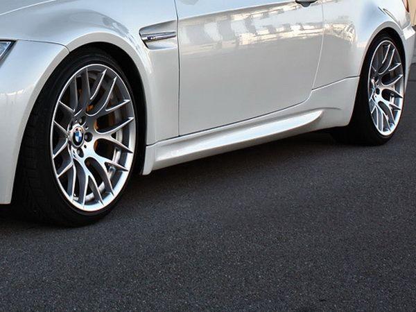 """Накладки на пороги BMW 3 E92 / E93 (2006-2010) """"M3"""""""