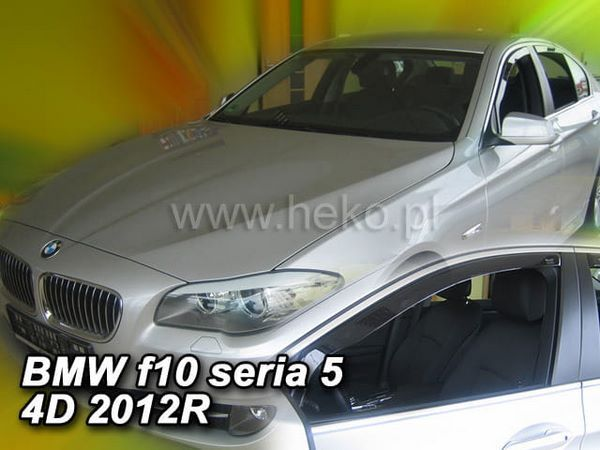 Вставные ветровики BMW 5 Series F10 - Heko 2