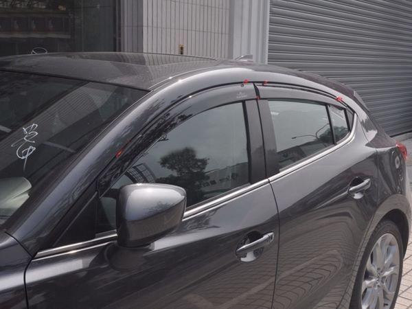 Ветровики MAZDA 3 (BM) (2013+) Sedan / Hatchback - Hic 2