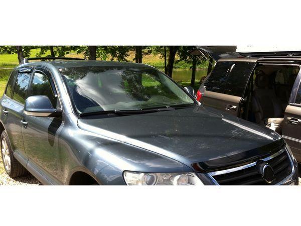 Мухобойка VW Touareg I (2002-2010) - Hic 2