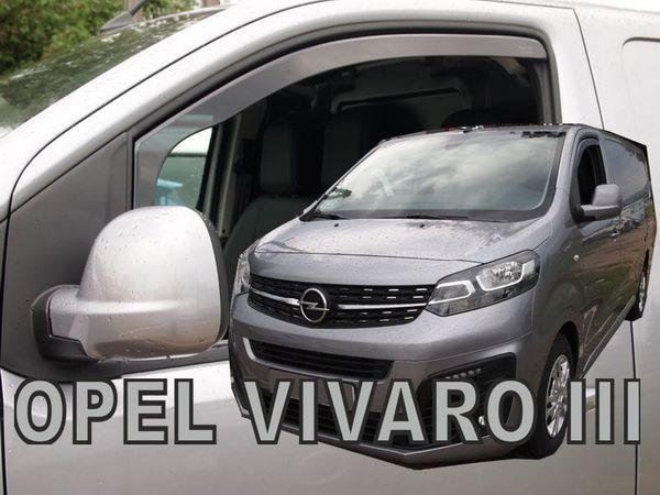 Ветровики OPEL Vivaro C (2019-) - Heko (вставные) 3