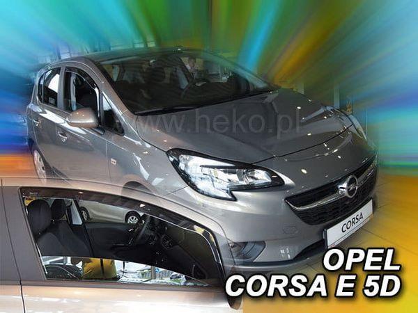 Ветровики OPEL Corsa E 5D (пять дверей) - Heko 2