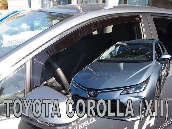 Ветровики TOYOTA Corolla XII (2019+) Sedan - Heko 2