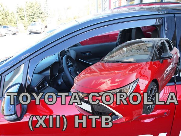 Ветровики TOYOTA Corolla XII 12 Hatchback - Heko 2