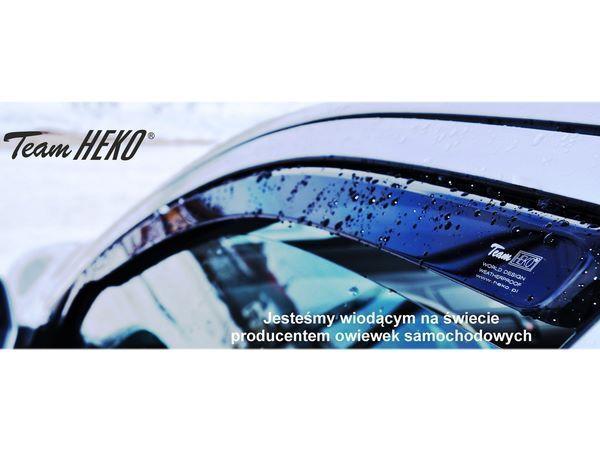 Дефлекторы окон HONDA Civic VIII Sedan - Heko (вставные) 2