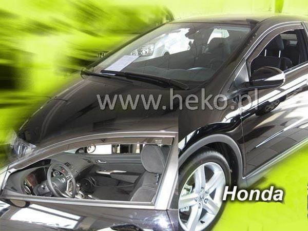 Дефлекторы окон HONDA Civic VIII Sedan - Heko (вставные) 3
