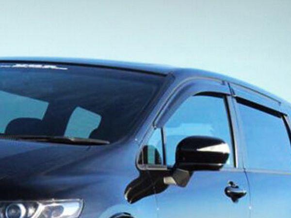 Ветровики HONDA Civic VIII Sedan - Hic (накладные) 1