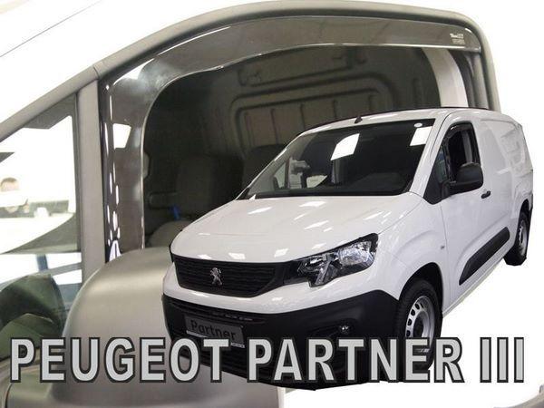 Дефлекторы окон PEUGEOT Partner III / Rifter - Heko 1