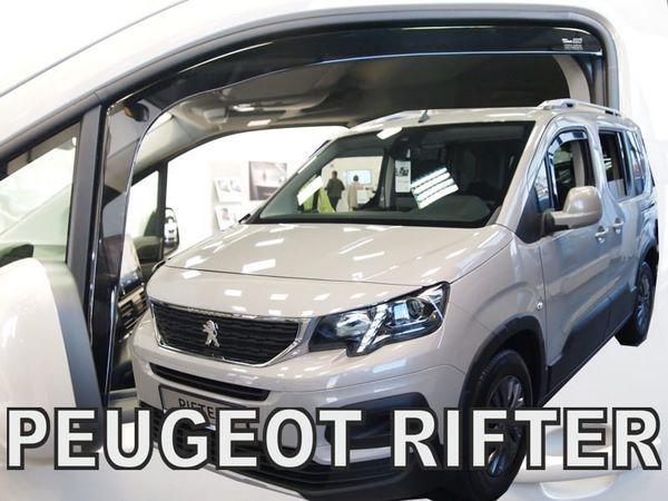 Дефлекторы окон PEUGEOT Partner III / Rifter - Heko 2