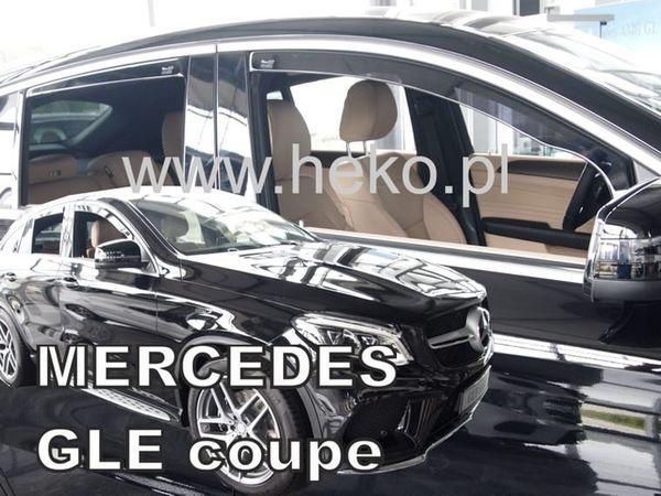 Ветровики MERCEDES GLE Coupe C292 - Heko 2
