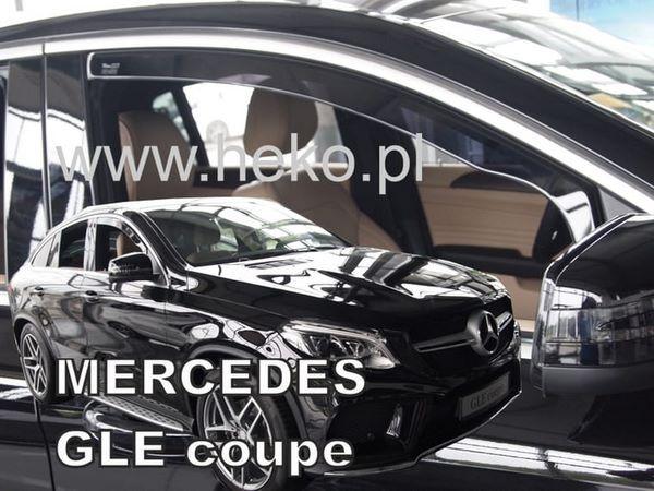 Ветровики MERCEDES GLE Coupe C292 - Heko 3